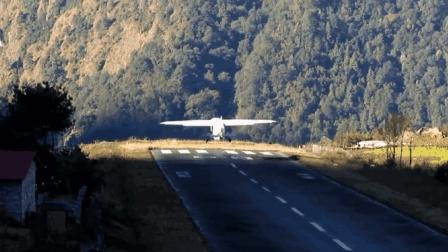 世界上最危险的机场  面朝700米深渊只有一条跑道  失败就是死亡