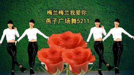 点击观看《燕子广场舞5211 梅兰梅兰我爱你 演唱杨坤 简单32步附分解广场舞教学视频教程》