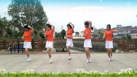 点击观看《看几遍就能学会的简单健身广场舞 我想你 初级入门广场舞视频》