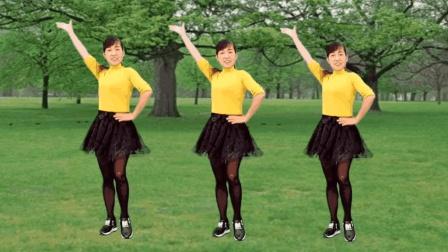 玫香广场舞  爱你的苦 原创32步广场舞视频分解教学