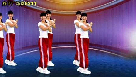 点击观看《燕子广场舞5211 初学47步鬼步舞教学视频 寂寞放了火 老师动作分解 中老年最爱的广场舞歌曲》