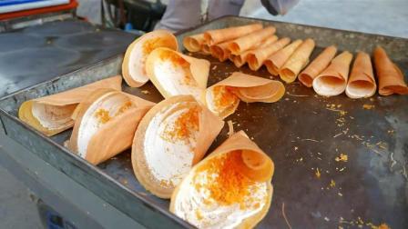 柬埔寨街�^小吃 街�^食品 - 巨型椰子�U�