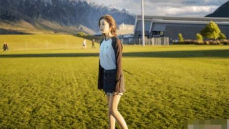 娜扎晒出最新美照, 她和大自然亲切合影, 粉丝感