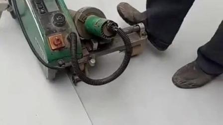 PVC防水卷材防渗膜塑料焊膜机