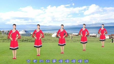 红豆广场舞精选《草原的月亮》好听好看又好学, 学会分享给舞伴!