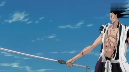 更木剑八VS诺伊特拉, 一招决胜负剑八完爆十刃NO5