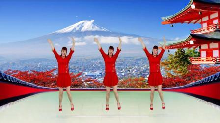 情歌民谣广场舞《乌来山下一朵花》欢快有趣32步好学好看!