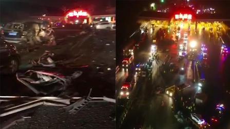 悲痛! 目击者描述兰海高速31车连撞15死44伤现场 多部门冒雪救援