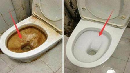 马桶别再用洁厕灵了! 教你一个去污绝招, 马桶干净如新, 厉害!