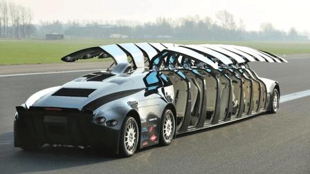 全球最贵豪华公交车, 价值7000万, 时速225公里, 你猜在哪