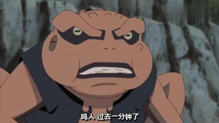 火影忍者-蛤蟆龙蛤蟆吉练手就能打三尾了, 看来除了八尾九尾都是渣渣