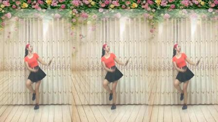 点击观看《驿城微笑最新广场舞 火焰情个 情歌好听舞好看》