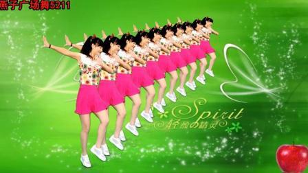 燕子广场舞5211 小苹果 附分解动作教学视频 演唱 筷子兄弟 经典流行曲 好听好看