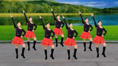 点击观看《玫香广场舞 女人就要美美美 正背面示范 附广场舞分解教学》