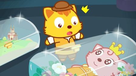 貓小帥故事水晶棺材