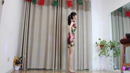 小君广场舞 生病了感冒还穿旗袍跳广场舞 最棒了!