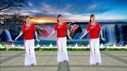 广场舞《等你等了那么久》不知何时能相守, 祁隆演唱, 歌醉舞美!