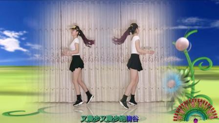 点击观看《驿城微笑广场舞 入门32步鬼步舞 情花毒 原创正反镜头》