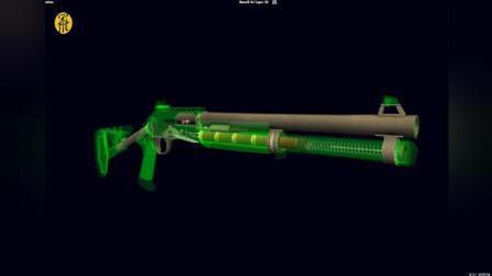 三维展示霰弹枪射击原理, 威力打却后坐力小
