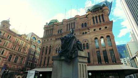 维多利亚女王大厦 悉尼市中心地标历史建筑