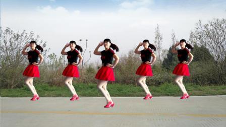阿真广场舞 最新独创水兵舞《没有你陪伴真的好孤单》动感时尚 好听好看