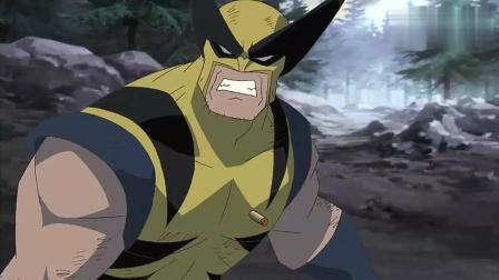 金刚狼捅穿绿巨人心脏, 没想到被死侍捡了便宜