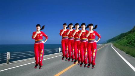 点击观看《现代自由步子《广场舞》新颖舞步简单时尚 好学好看》