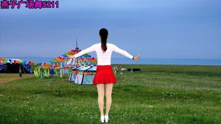 点击观看燕子广场舞5211《拉萨夜雨》演唱 苏勒亚其其格 附分解动作 简单好学视频