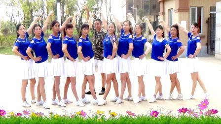 建群村广场舞 隔壁的女孩 单人水兵舞 编舞陈雪