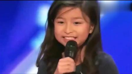中国小女孩上国外节目, 演唱《我心永恒》, 动听