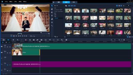 影视后期技能128 会声会影2018基础教程 常用剪辑技巧汇总