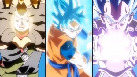 龙珠英雄大对决, 超蓝与超红激战, 白神悟空乱入