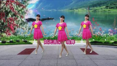 点击观看《阳光溪柳广场舞 唱一首情歌 简单好看易学的动感32步子舞视频》