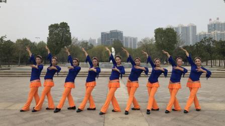 美久广场舞 嘴巴嘟嘟 欢快活波流行舞分解教学 附明星舞队正背面示范
