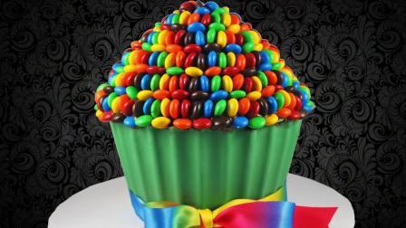 掌握这个方法, 就算手被二哈啃过, 也能做出如此美的彩虹豆蛋糕!