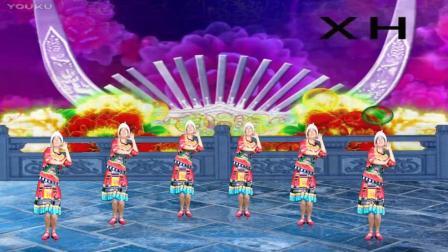 阿娜广场舞 不知该怎么称呼你 背面 苗族舞 惠州原创