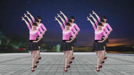 水兵舞风格的16步广场舞视频 今生只爱你一个 果然是老年人爱跳的舞蹈
