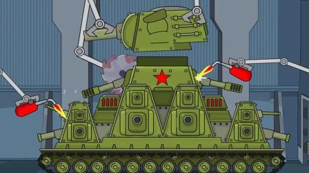 坦克世界动画: 一个只属于苏系的秘密! 这算是美系硬闯基地吗?