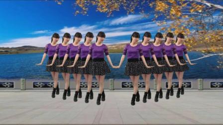 点击观看《阳光溪柳广场舞 对不起现在我才爱上你 简单易学的32步大众健身舞》