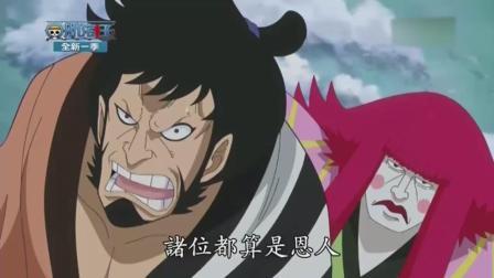 海贼王 国语版 不一样的海贼语言 004