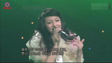 张韶涵10年前在韩国现场霸气飙高音, 堪比录音棚, 满满的都是回忆!
