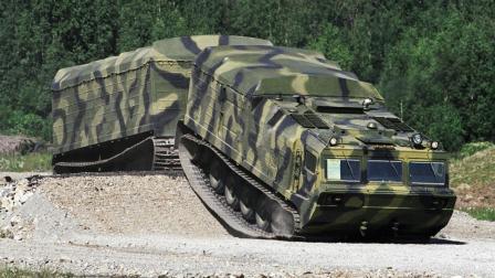 陆地蛟龙, DT-30全地形车, 俄罗斯靠它征服西伯利亚沼泽