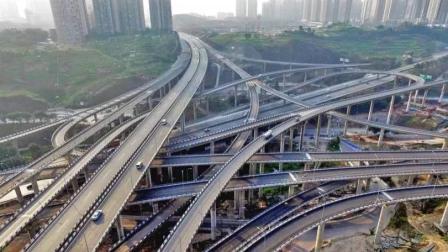 """中国最复杂的立交桥, 能把导航绕""""失灵"""", 走错匝道就是一日游"""
