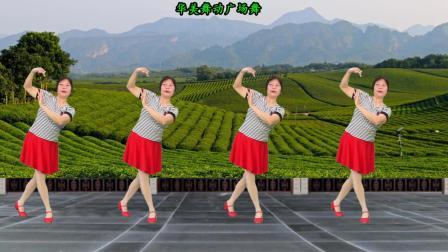华美舞动广场舞 不忘阶级苦 经典怀旧60年代歌曲舞蹈教学分解 附背面演示