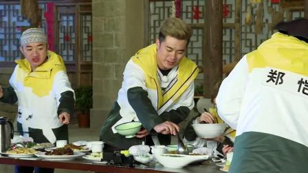 陈赫变身小吃货, 清空盘子还要吃, 王祖蓝想制止为时已晚