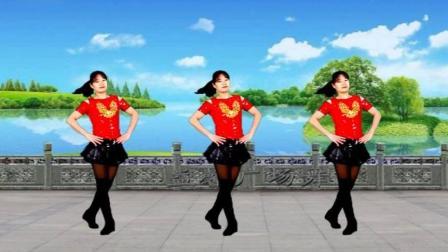 益馨广场舞 等着我来爱 动感健身舞分解教程 0基础都能学会的舞蹈