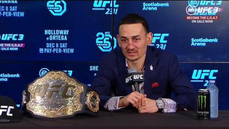 UFC231赛后发布会:多伦多销量好 选手们很奋勇