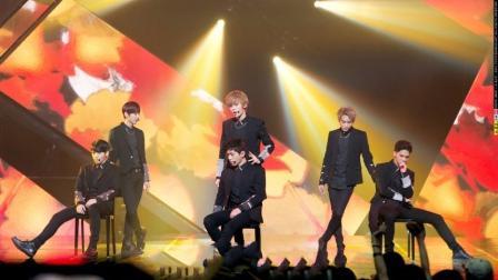 韩国人气组合infinite, 舞蹈风格与众不同, 现场表演蝎子舞