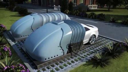 新疆一夫妻为解决停车麻烦, 自费发明新车库, 可移动保护汽车