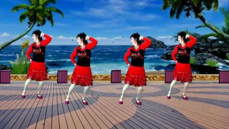 吕芳广场舞 说再见不应该在秋天 正背面及分解动作